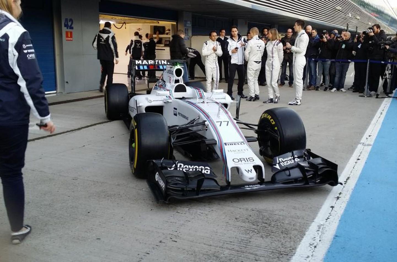 Presentata a Jerez la Williams FW37