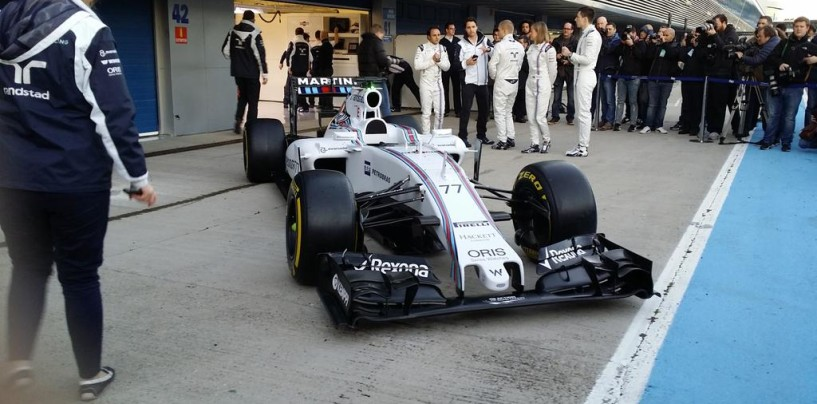 Presentata a Jerez la Williams FW37