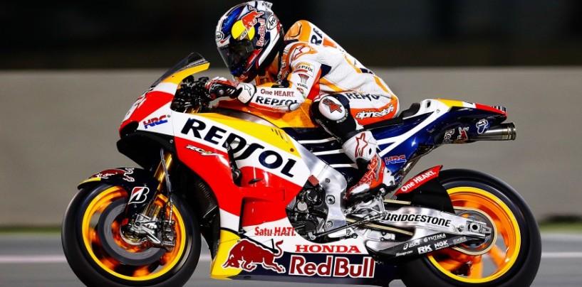 MotoGP, Dani Pedrosa: stop a tempo indeterminato