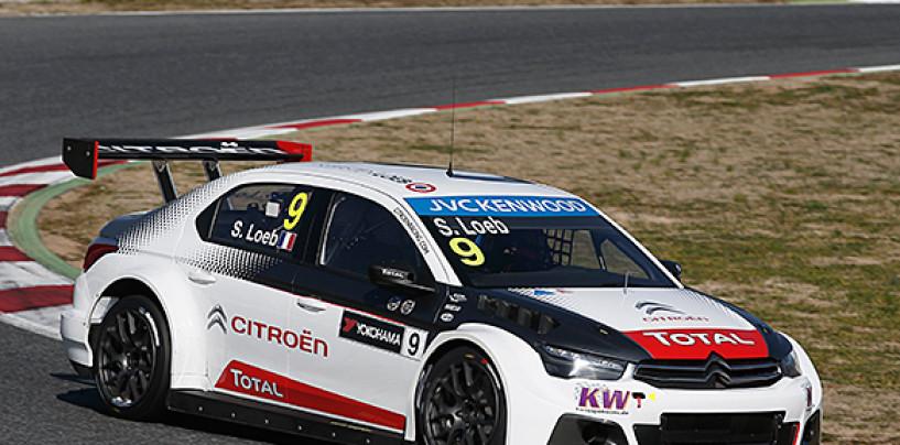 WTCC Río Hondo: Loeb apre il plotone Citroën nei test