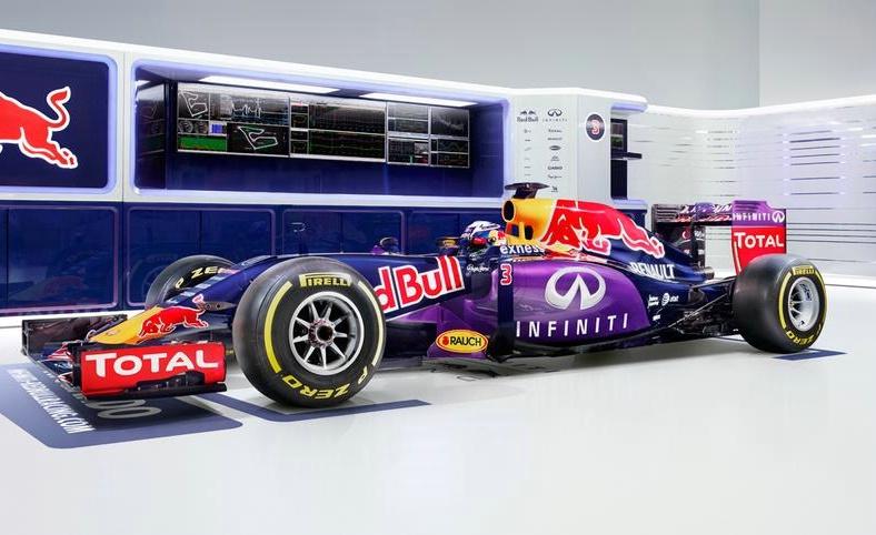 Red Bull: presentata la livrea ufficiale per il mondiale 2015