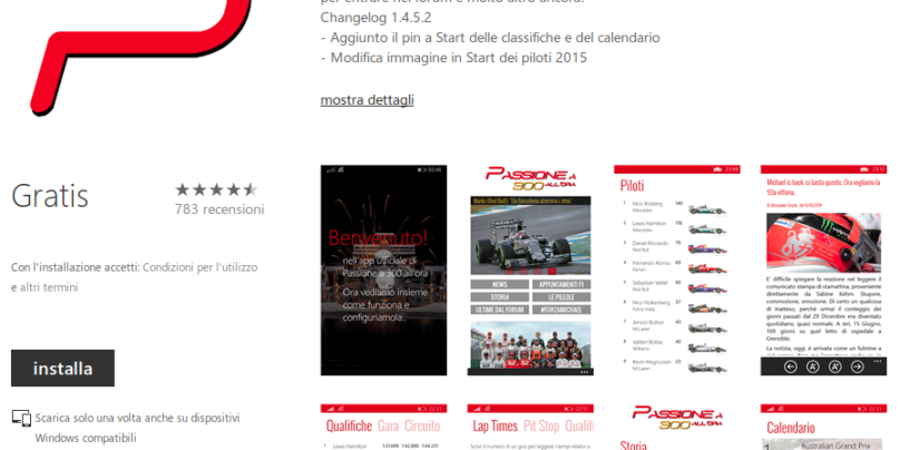 Restyle 2015 per la nostra App Windows Phone
