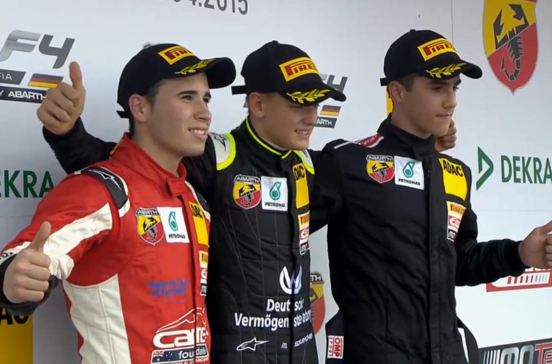 Esordio con vittoria in gara 3 per Schumi Jr nella F4 tedesca