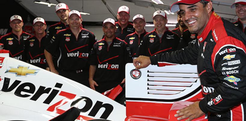 IndyCar Louisiana: la pioggia cancella le qualifiche, Montoya in pole
