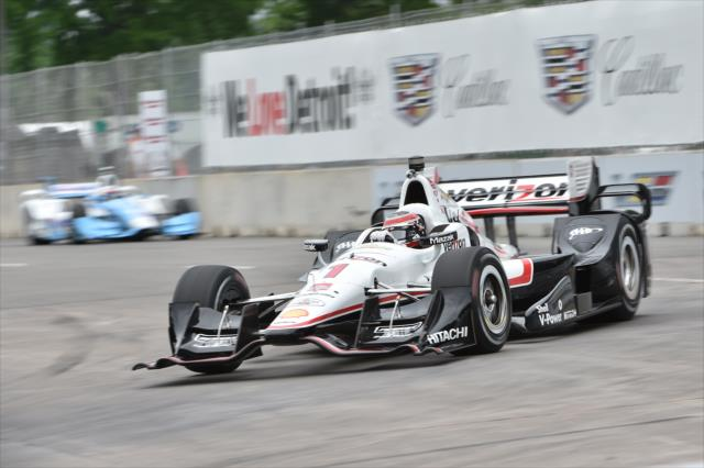 Indycar 2015, Will Power conquista la pole per gara-1 a Detroit