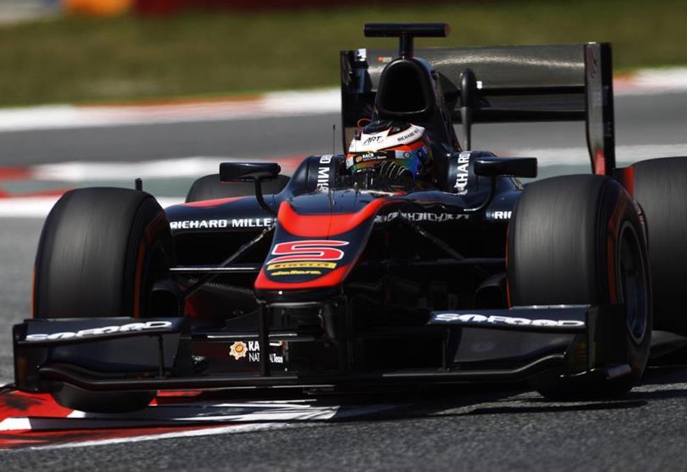 GP2, a Barcellona Vandoorne allunga in classifica