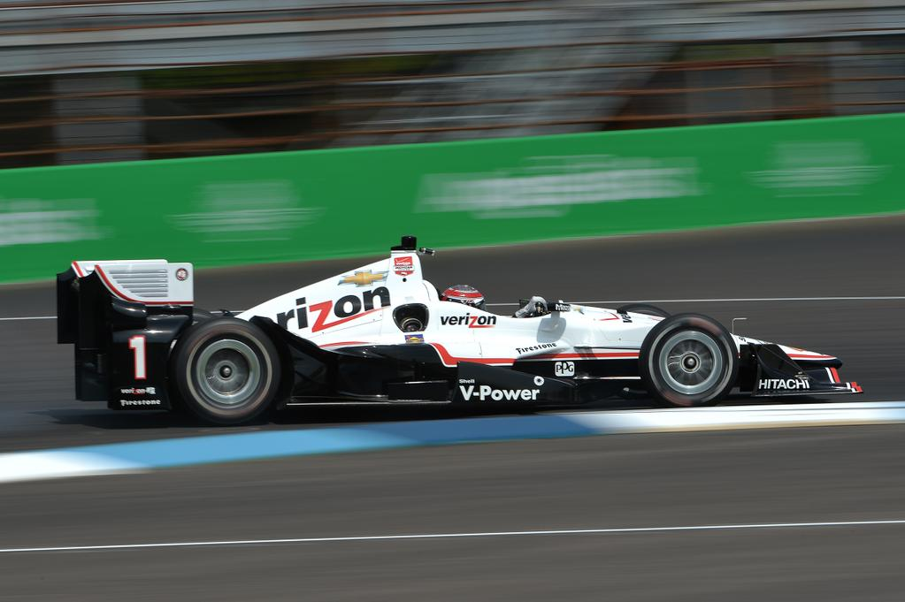 Indycar, Will Power in pole a Indianapolis