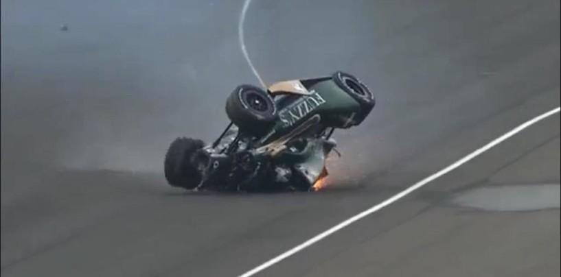 Indy 500 2015, ancora un botto durante le libere, Carpenter ok