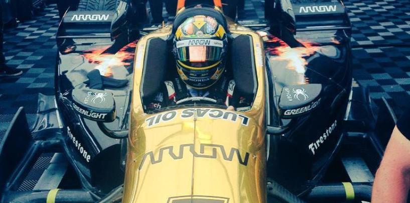 Indycar verso Detroit, Daly al posto di Hinchcliffe