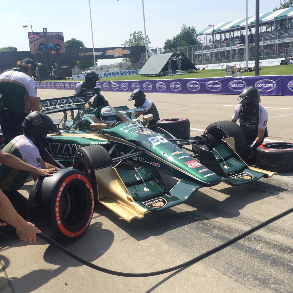 Indycar 2015, Filippi davanti a tutti nelle libere 2