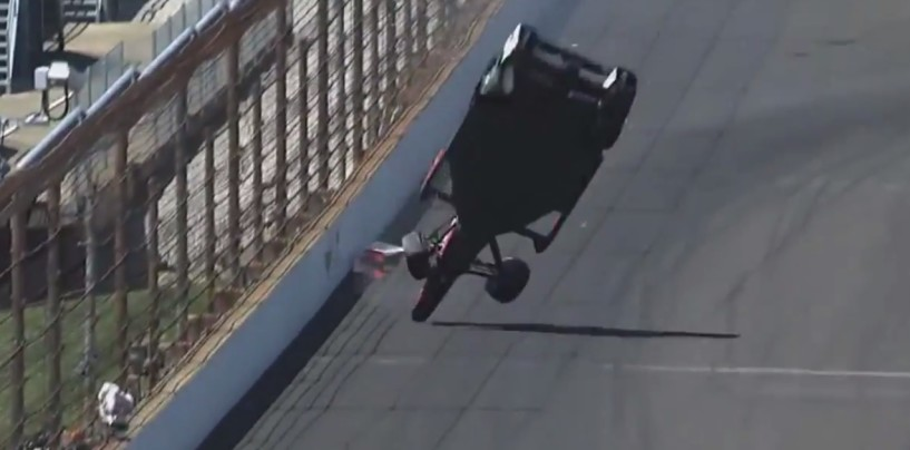 Indy 500 2015, attimi di paura per Castroneves, Muñoz il più veloce