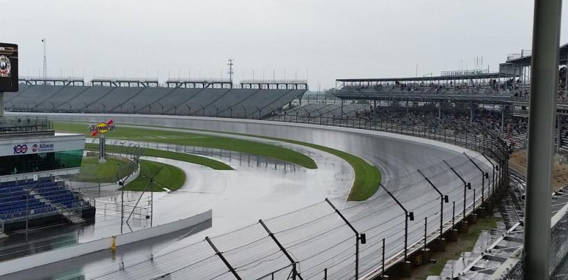 Indy 500 2015, troppa pioggia: qualifiche spostate a domani