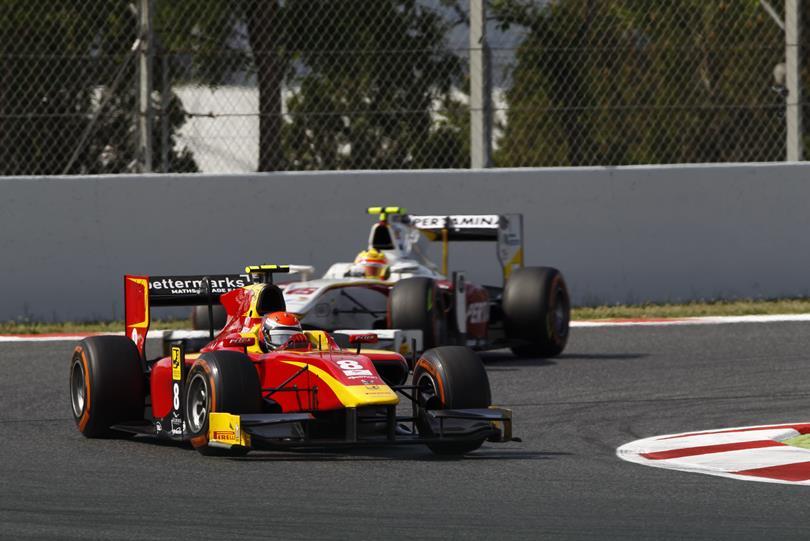 GP2 Montecarlo: Rossi incanta sul bagnato, sua la pole