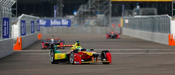 Formula E Berlino: vince uno straripante di Grassi, sfortunato Trulli