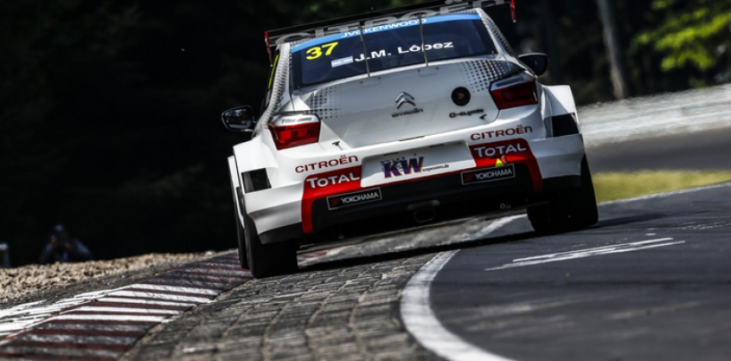 WTCC Nürburgring: dopo la pioggia è ancora López a primeggiare nelle libere