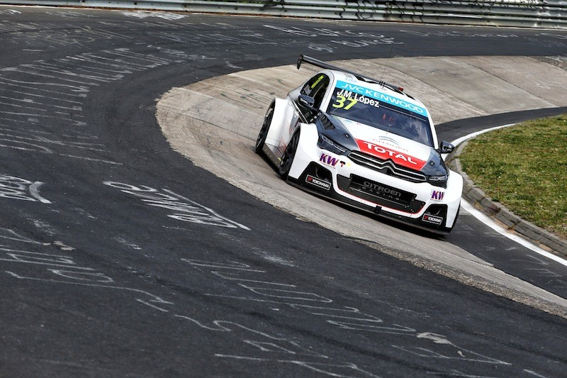 WTCC Nürburgring: López detta il passo nei test sulla Nordschleife