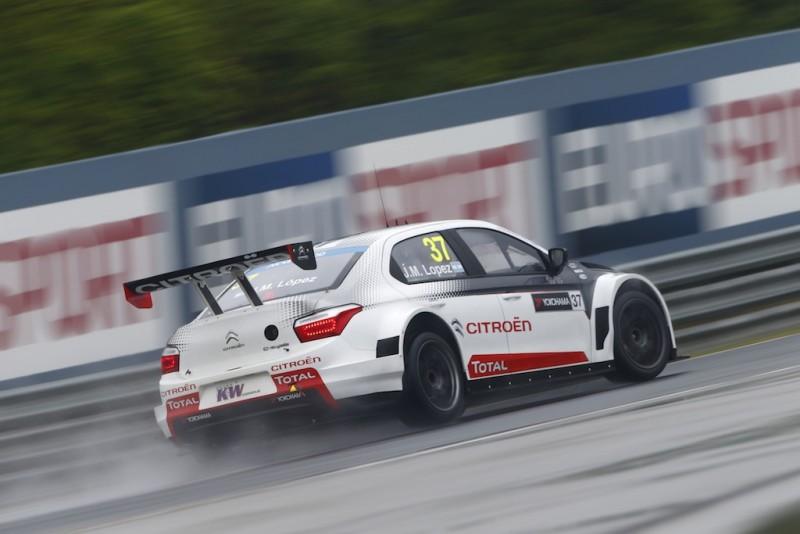 WTCC Hungaroring: López domina le libere con la pioggia