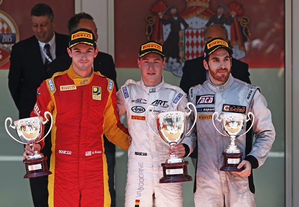 GP2 Montecarlo: Vandoorne bravo e fortunato in gara-1