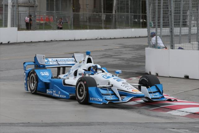 Indycar, Montoya al comando nelle libere 1 di Toronto