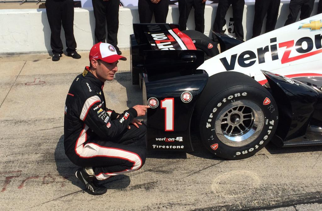 Indycar 2015, altro dominio Penske, pole per Power