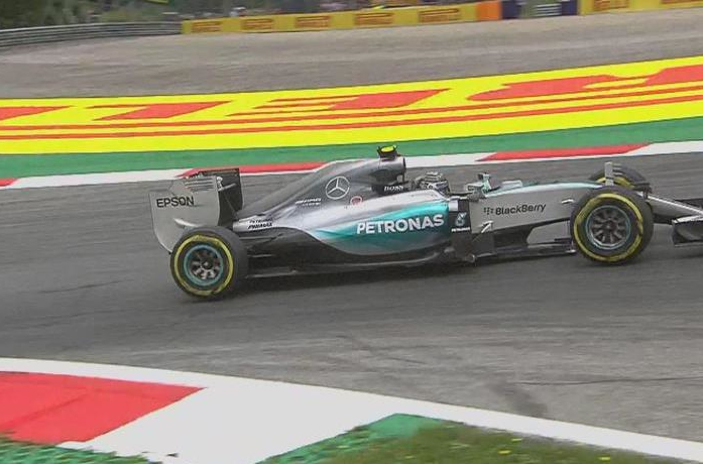 Zeltweg, Libere 1, Rosberg e Hamilton davanti a tutti