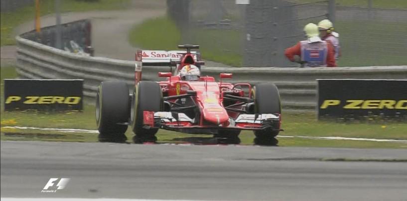 Zeltweg, libere 2, Vettel al top ma i problemi continuano
