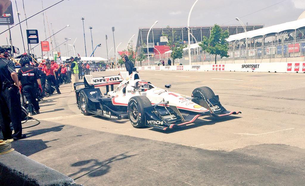 Indycar 2015, a Toronto Power si prende un'altra pole