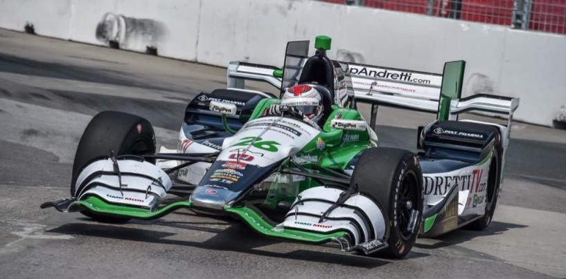 Indycar 2015, Muñoz il più veloce nel warm up, anticipata di mezz'ora la partenza