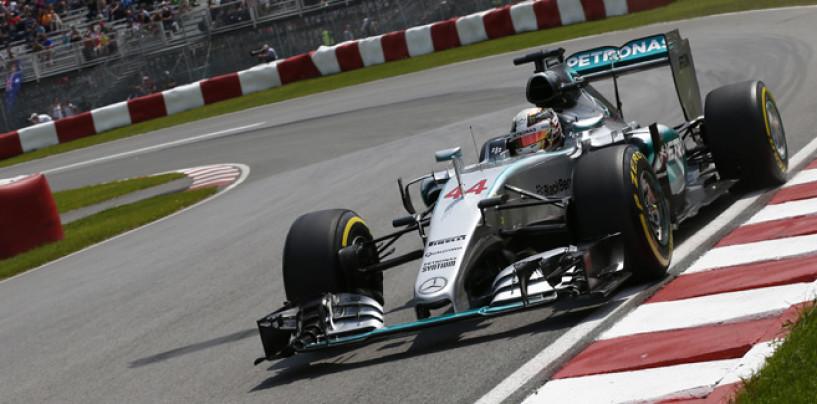 Hamilton conquista Montreal, suo il GP del Canada davanti a Rosberg e Bottas