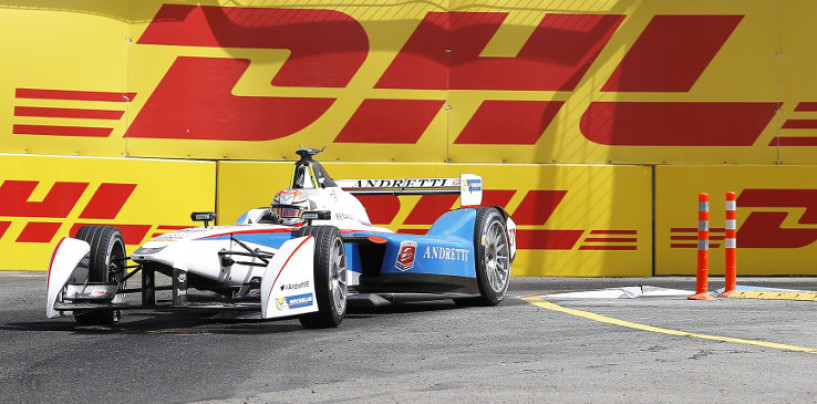 Formula E, Vergne in pole a Mosca