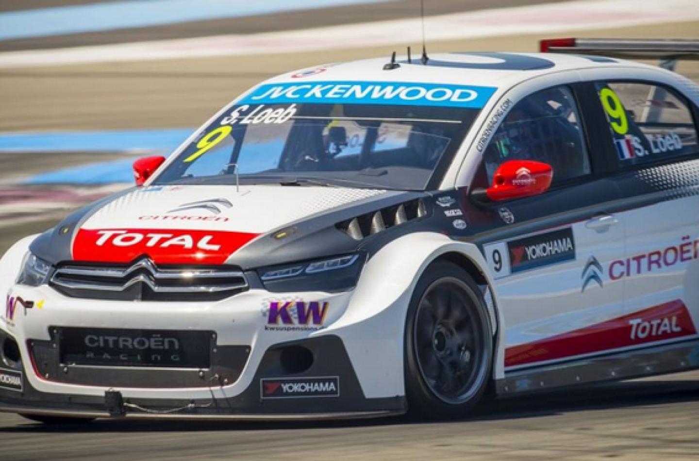 WTCC Le Castellet: è dominio Citroën, Loeb in pole