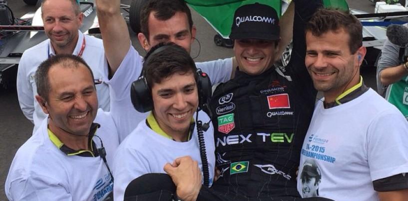 Formula E Londra: vince Bird, Piquet è il primo campione