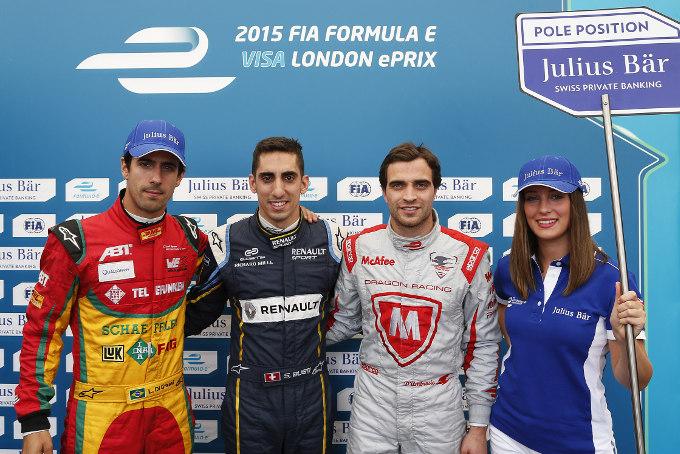 Formula E Londra: straordinaria pole per Buemi