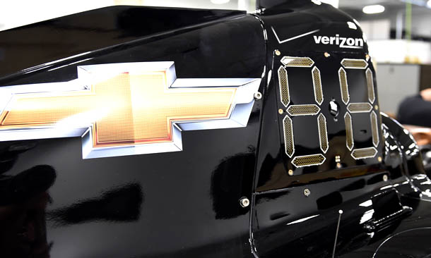 Indycar, debutterà a Mid-Ohio il sistema di display a LED sulle vetture