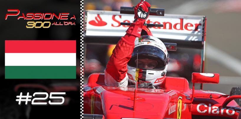 """Puntata #25 """"Vettel trionfa nel bordello di Budapest!"""" alle 21.15 su Youtube"""