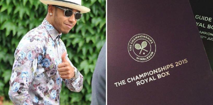 Hamilton fermato a Wimbledon da...Hamilton