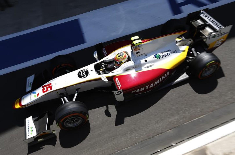 GP2 Silverstone: Haryanto vince gara-2 davanti a Marciello