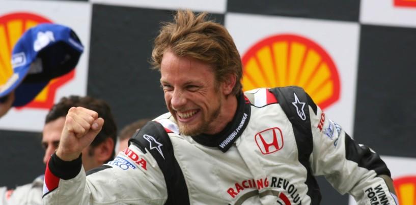 Gp d'Ungheria 2006: la prima vittoria di Jenson Button