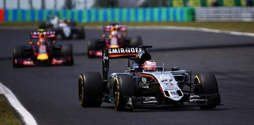 "Hulkenberg: ""La Force India risolverà i problemi di Budapest"""