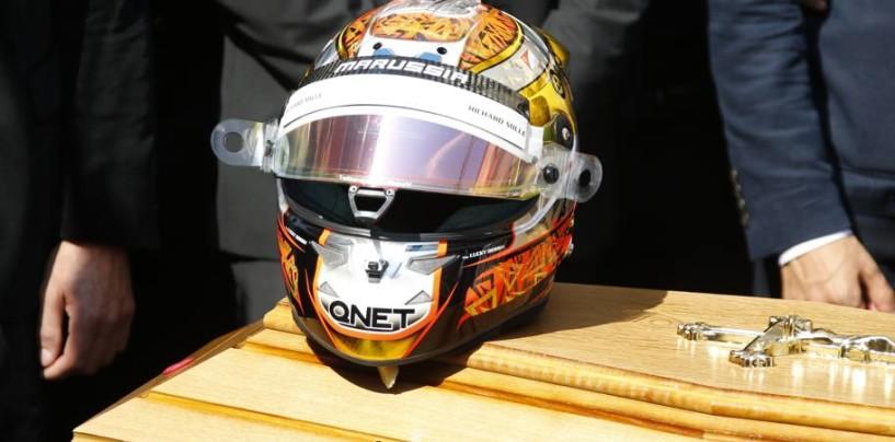 Il saluto più difficile per Jules Bianchi