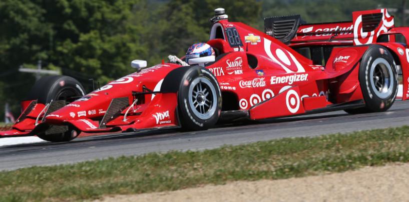 Indycar 2015, Dixon abbatte il record della pista a Mid-Ohio