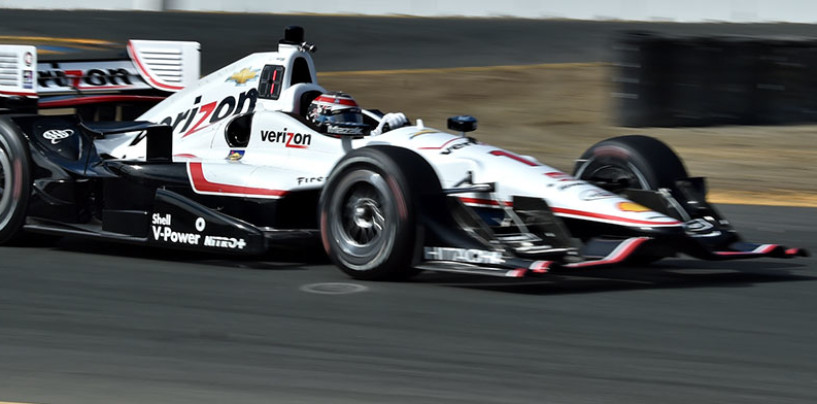 Indycar 2015, Power il più veloce nelle libere di Sonoma