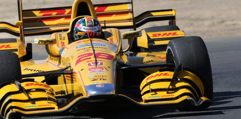 Indycar, miglior tempo e record della pista per Ryan Hunter-Reay