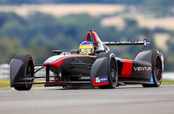 Formula E: Buemi inizia con il piede giusto a Donington
