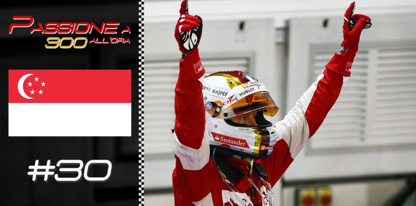 """Puntata #30 alle 21.30 su Youtube: """"Vettel sbanca Singapore, tutto pronto a Suzuka"""""""