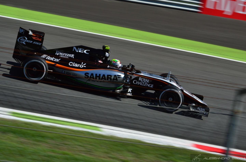 Sergio Perez confermato in Force India nel 2016