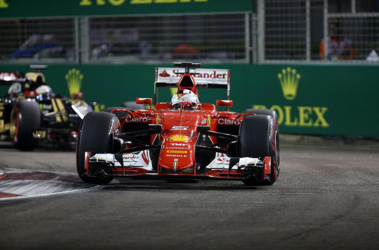 GP Singapore, libere 3: Ferrari al comando con Vettel e Raikkonen