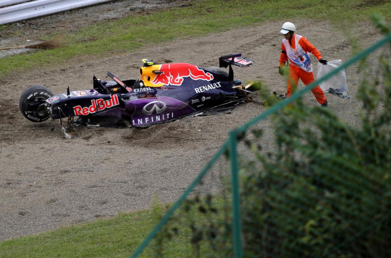 Kvyat partirà dalla pitlane nel GP del Giappone