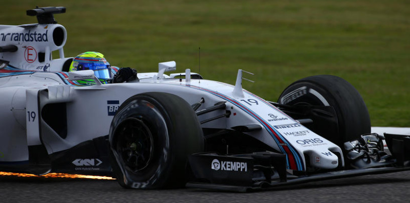 Brutta giornata per Felipe Massa a Suzuka