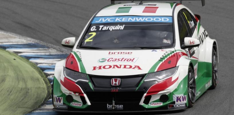 WTCC Motegi: Tarquini e Honda comandano nei test